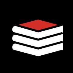 Books openmoji emoji