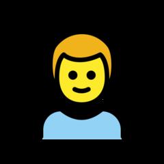 Boy openmoji emoji
