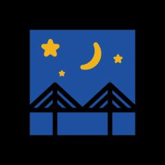 Bridge At Night openmoji emoji
