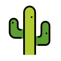 Cactus openmoji emoji