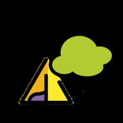 Camping openmoji emoji