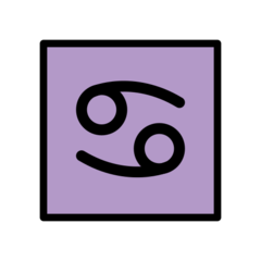 Cancer openmoji emoji