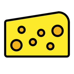 Cheese Wedge openmoji emoji