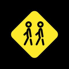 Children Crossing openmoji emoji