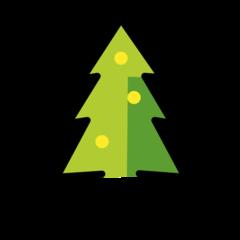 Christmas Tree openmoji emoji