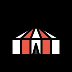 Circus Tent openmoji emoji