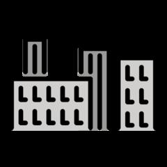 Cityscape openmoji emoji
