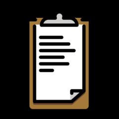 Clipboard openmoji emoji
