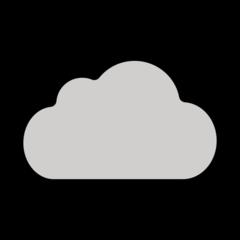 Cloud openmoji emoji