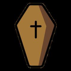 Coffin openmoji emoji