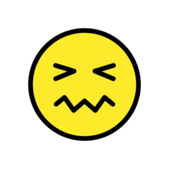 Confounded Face openmoji emoji