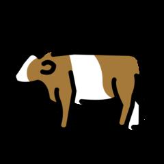 Cow openmoji emoji