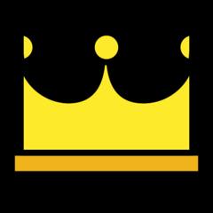 Crown openmoji emoji