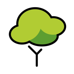 Deciduous Tree openmoji emoji