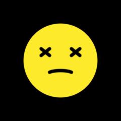 Dizzy Face openmoji emoji