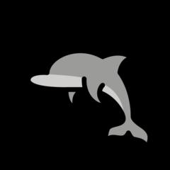 Dolphin openmoji emoji
