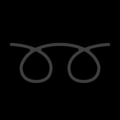Double Curly Loop openmoji emoji