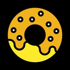 Doughnut openmoji emoji