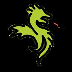 Dragon openmoji emoji