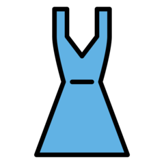 Dress openmoji emoji