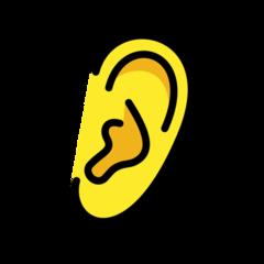 Ear openmoji emoji