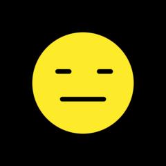 Expressionless Face openmoji emoji