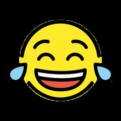 Face With Tears Of Joy openmoji emoji