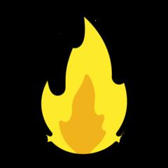 Fire openmoji emoji