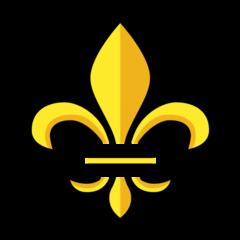Fleur-de-lis openmoji emoji