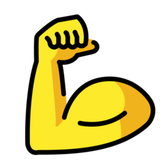Flexed Biceps openmoji emoji