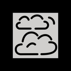 Fog openmoji emoji