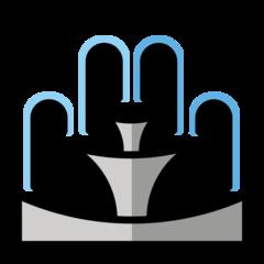 Fountain openmoji emoji