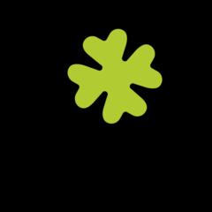 Four Leaf Clover openmoji emoji