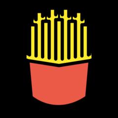 French Fries openmoji emoji