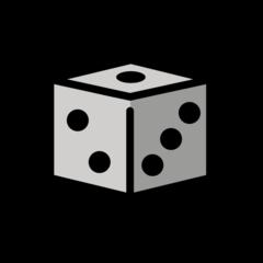 Game Die openmoji emoji
