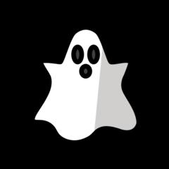 Ghost openmoji emoji