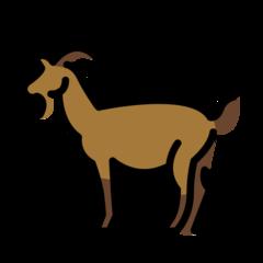 Goat openmoji emoji