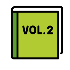 Green Book openmoji emoji