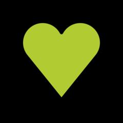 Green Heart openmoji emoji
