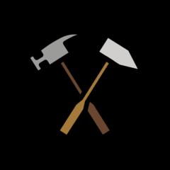 Hammer And Pick openmoji emoji