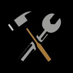 Hammer And Wrench openmoji emoji