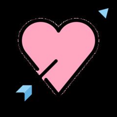 Heart With Arrow openmoji emoji