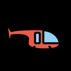 Helicopter openmoji emoji