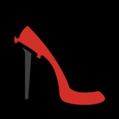 High-heeled Shoe openmoji emoji