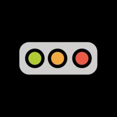 Horizontal Traffic Light openmoji emoji