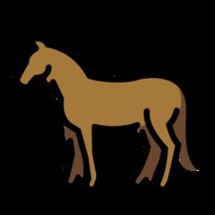 Horse openmoji emoji
