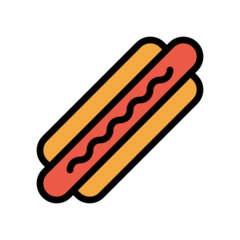 Hot Dog openmoji emoji