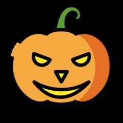 Jack-o-lantern openmoji emoji