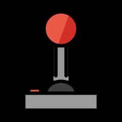 Joystick openmoji emoji