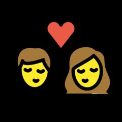 Kiss openmoji emoji